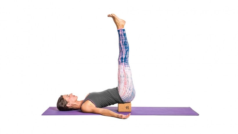 Legs-up-the-Wall | Yoga Pose