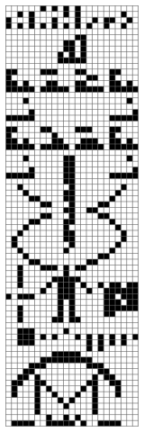 Arecibo message crop circle