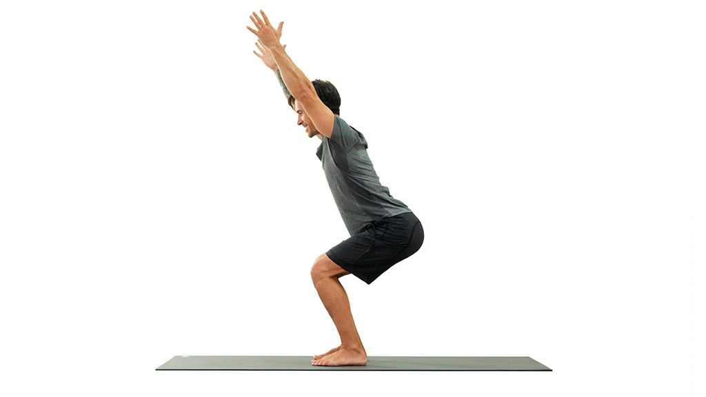 Utkatasana: Chair Pose