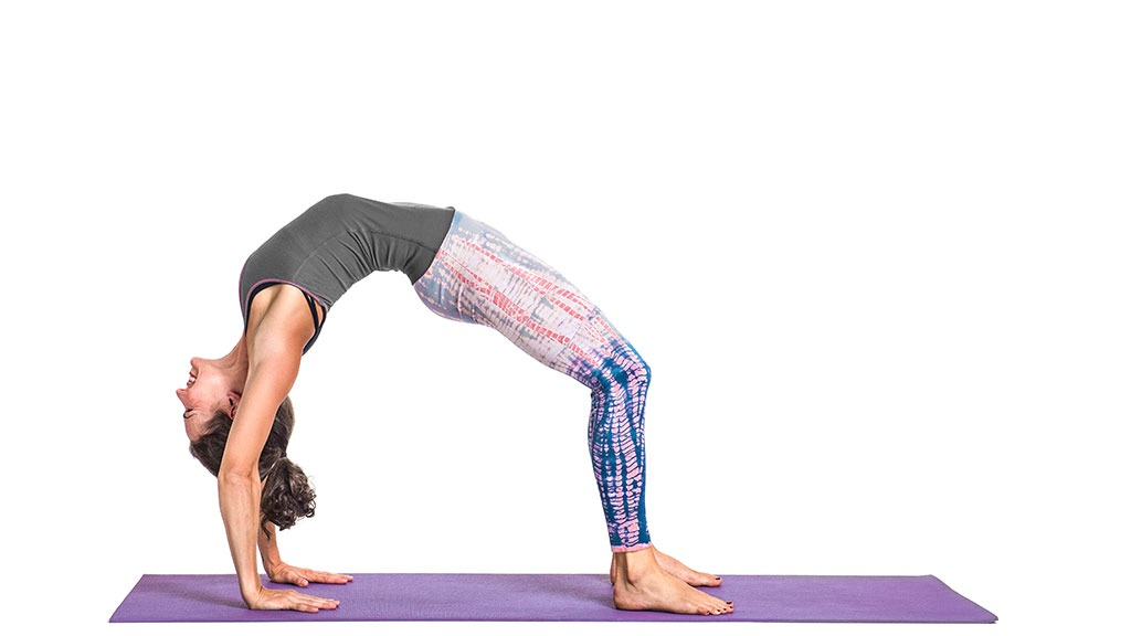 Urdhva Dhanurasana: Upward Facing Bow Pose