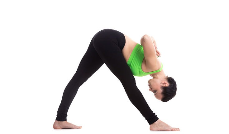 Picture of Intense Side Stretch Pose