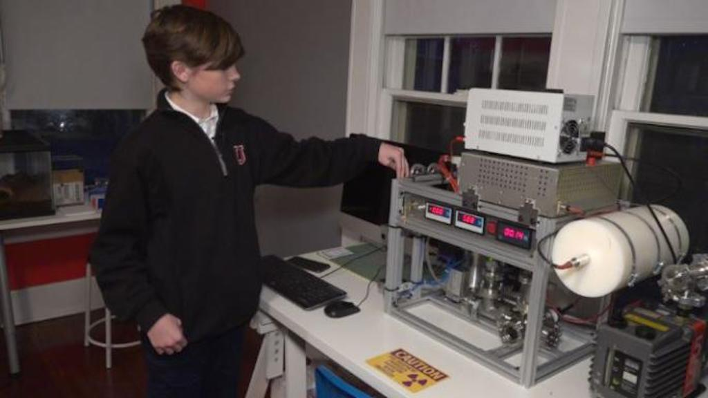 A 12-Year-Old Boy is Youngest Person to Achieve Nuclear Fusion