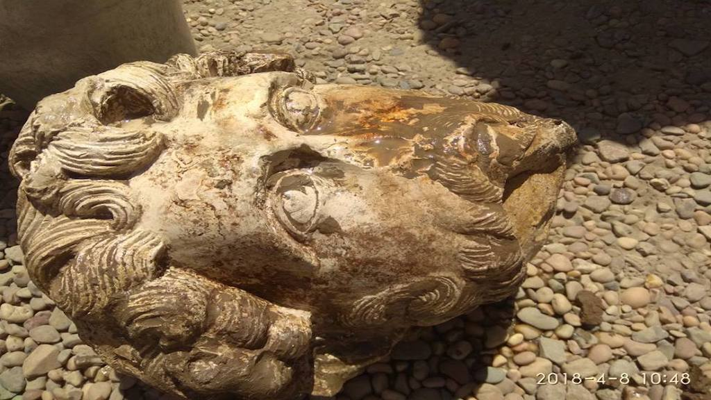 Archeologists Discover Head of Roman Statue in Egyptian Tomb