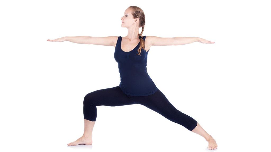 Virabhadrasana II: Warrior II Pose - Yoga | Gaia  Warrior 2 Pose