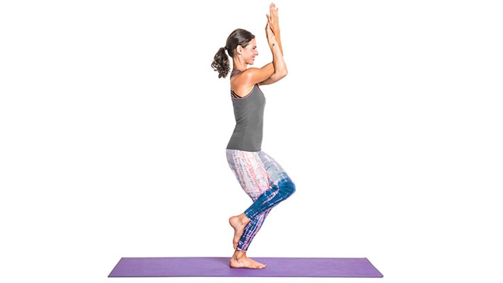 Garudasana: Eagle Pose