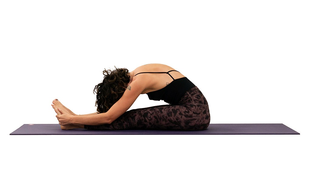 Paschimottanasana: Seated Forward Bend Pose