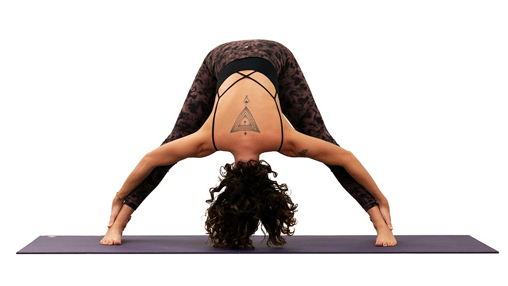 Prasarita Padottanasana: Standing Wide-Legged Forward Bend Pose