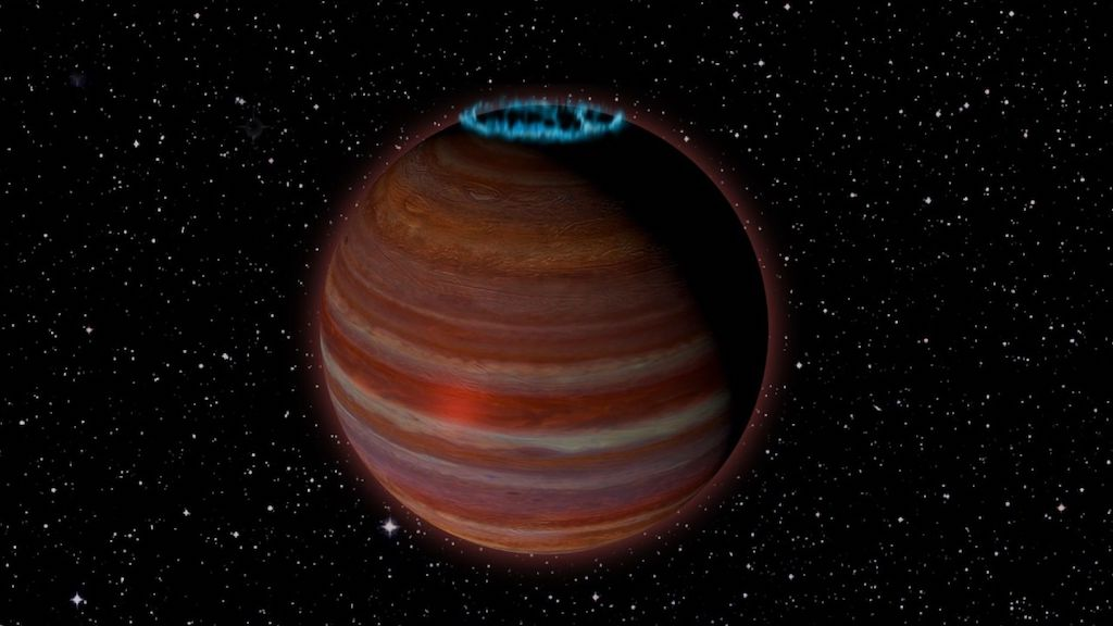 A Glowing Rogue Planet Was Spotted Drifting Near Our Solar System
