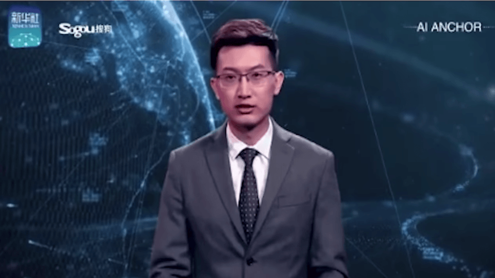 Chinese State-Run TV Debuts Artificial Intelligence News Anchor
