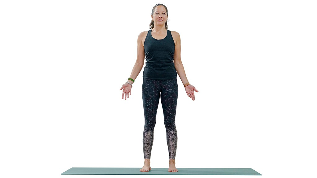 Tadasana: Mountain Pose