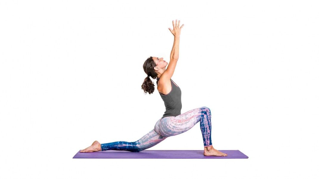 Anjaneyasana: Monkey Lunge Pose