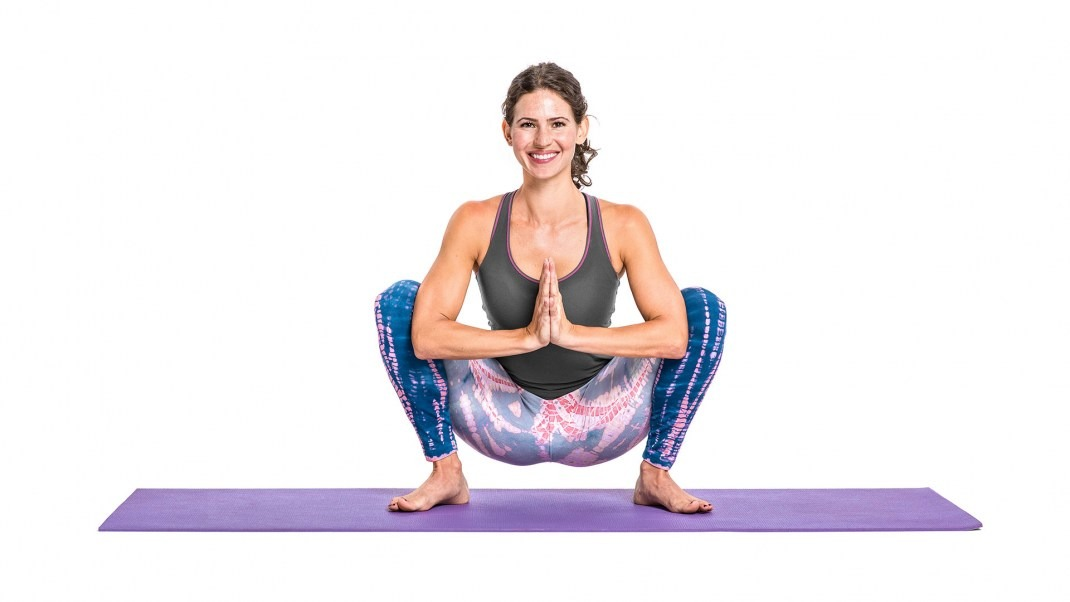 Squat Pose Yoga: Malasana - Garland Pose