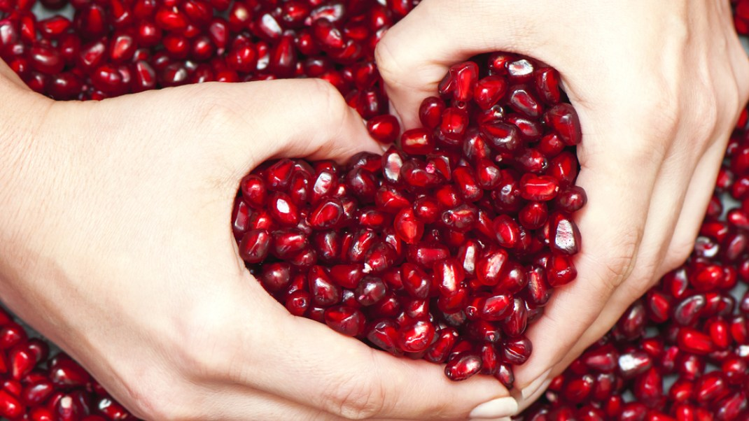 The Healing Benefits of Pomegranate