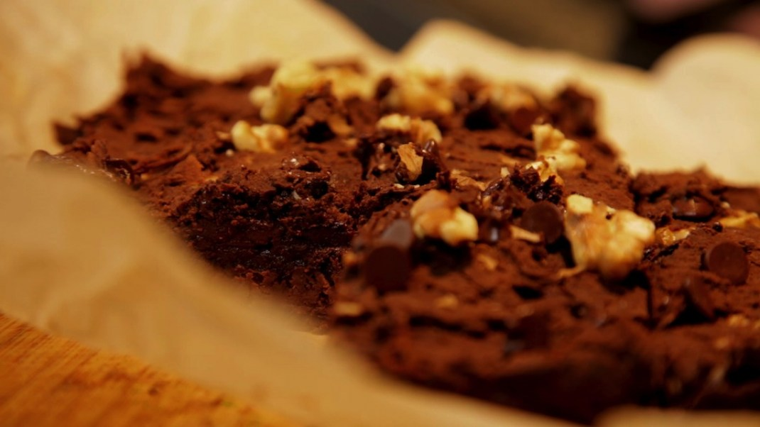 Zain's Black Bean Brownies