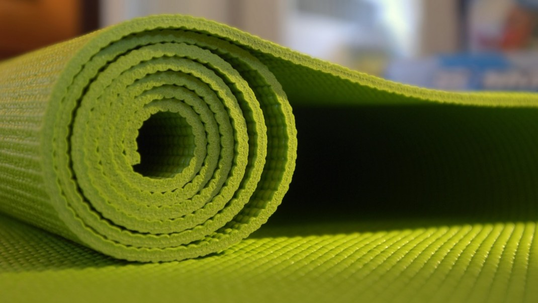 Keeping Your Yoga Mat Clean and Pristine
