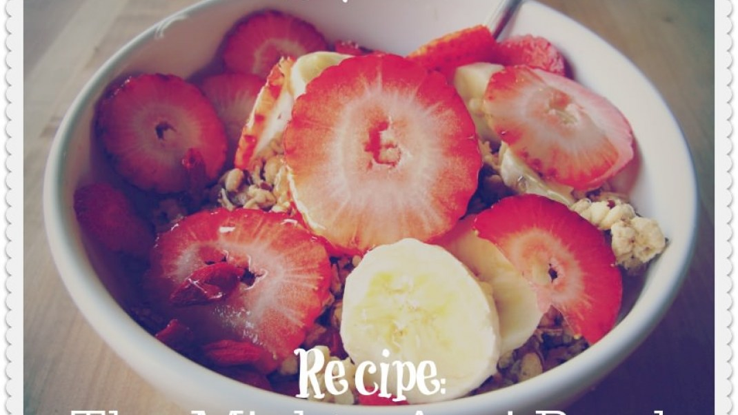 Healthy Foodie Week Breakfast Recipe: The Mighty Acai Bowl