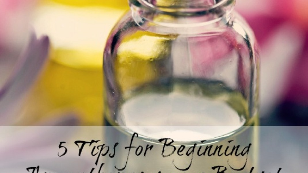 Beginning Aromatherapy…On a Budget