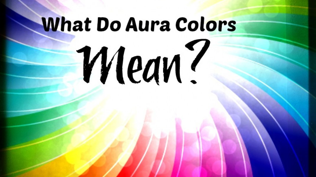An easy breakdown of the colors in an aura