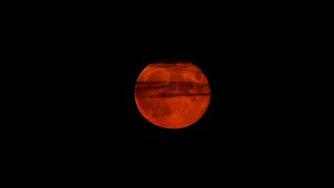 Full Blood Moon and Libra Lunar Eclipse