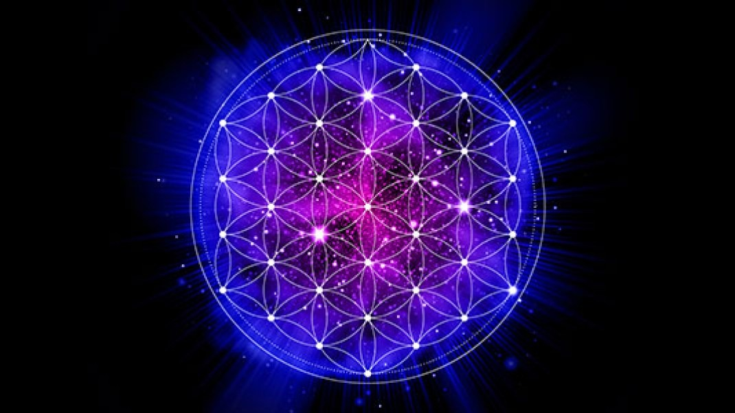 Image result for images of earth surrounded by the flower of life