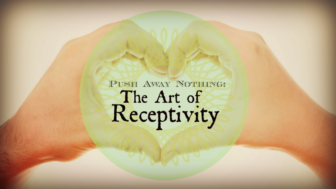 Push Away Nothing: The Art of Receptivity