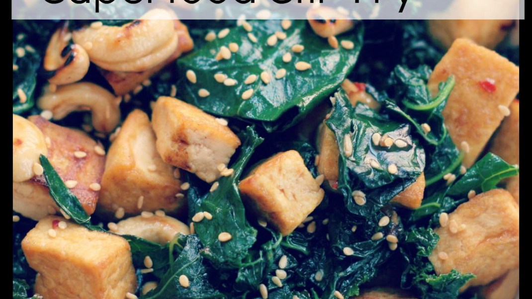 Try this stir-fry recipe chock full of superfoods!
