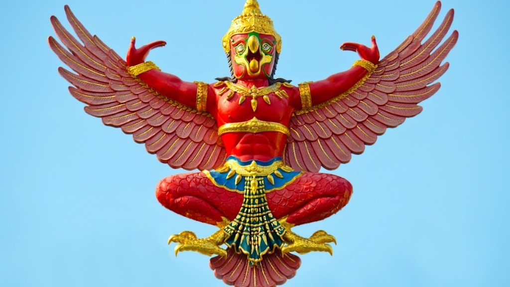The Legend of Garuda; Half-Man, Half-Bird