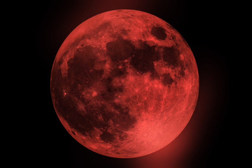 red moon in south africa - photo #11
