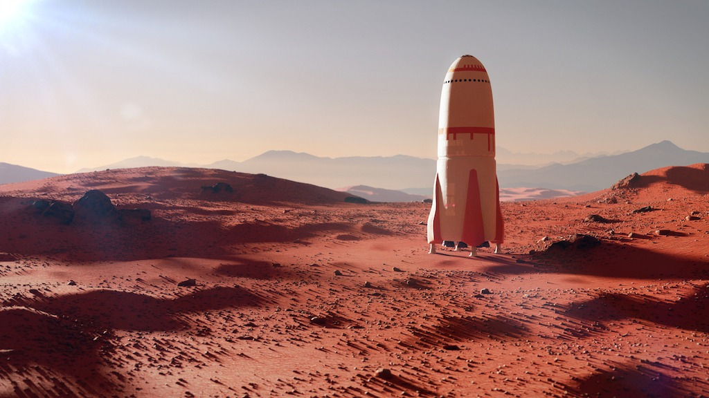 Wernher von Braun's Project Mars Book Predicted Elon Musk