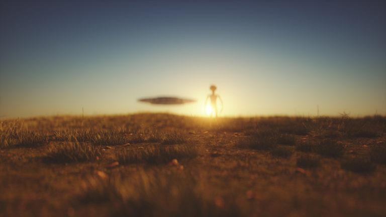 Aliens have landed.