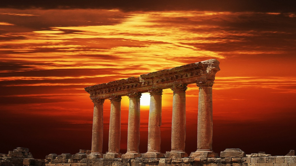 The Megalithic Baalbek Temple; An Ancient 'Landing Place?'