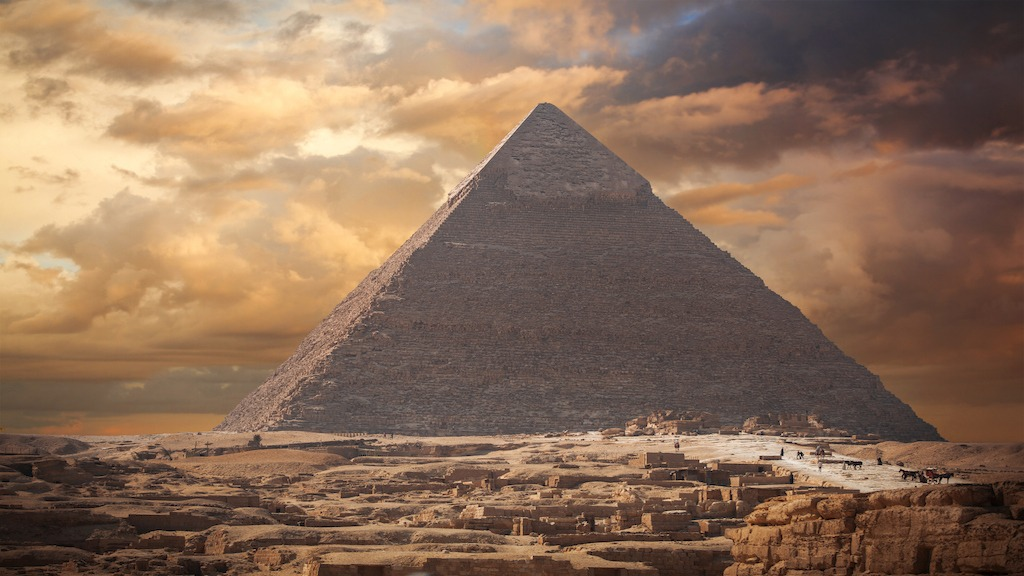 The Mathematical Genius Encoded in the Great Pyramid