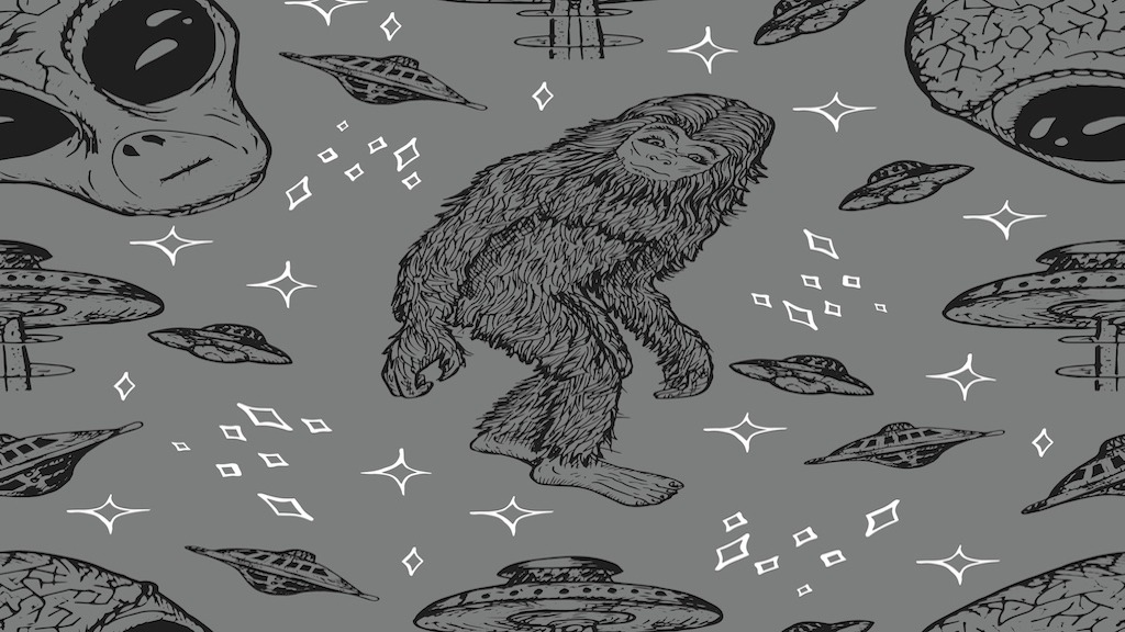 UFOs and Bigfoot; Evidence of an Inter-Dimensional Connection