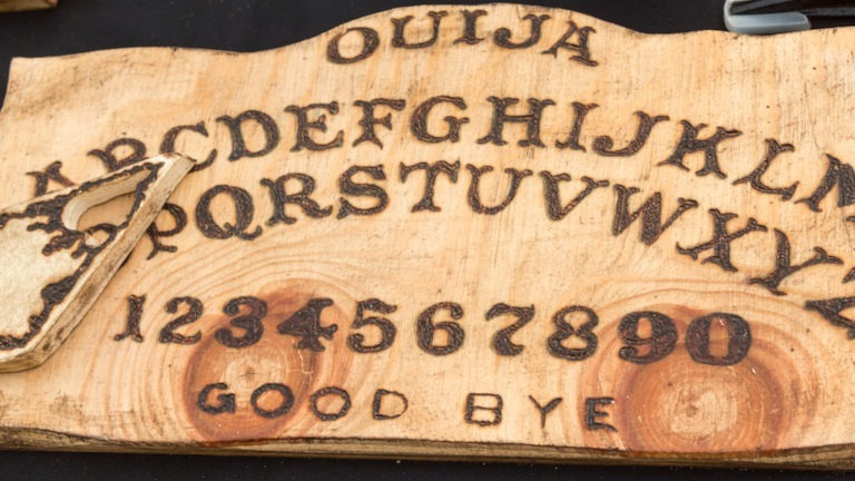 Wooden Board Ouija: Communication with Spirits-