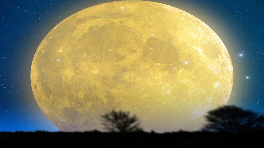 Tonight's Super Worm Moon Marks 2019 Vernal Equinox