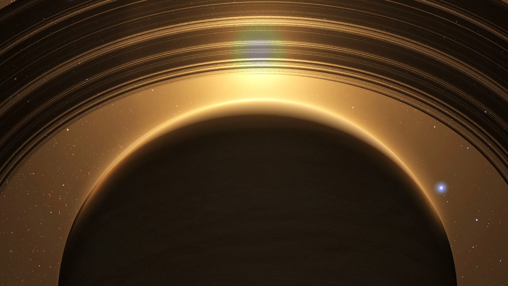 Glitch Discovered In Saturn's Rings By Cassini Spacecraft Images