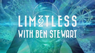 Man silhouette, Limitless logo with Ben Stuart