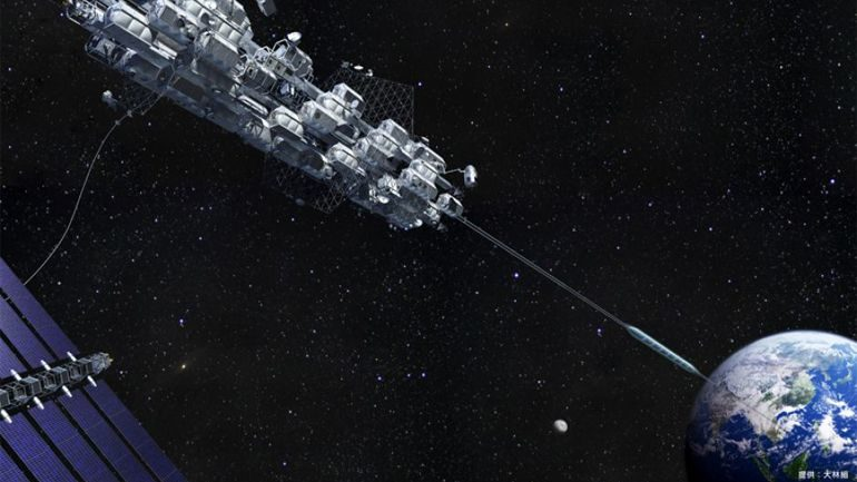 Japan's Space Elevator Expected to Be Built By 2050