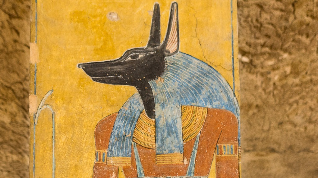Anubis: Egyptian Dark Lord of the Abyss