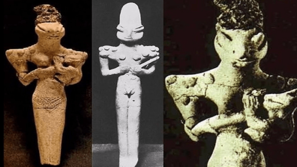 The Ubaid Lizardmen Figurines; Reptilians in Ancient Sumer